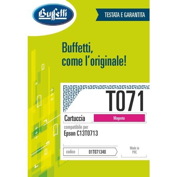 Epson Cartuccia inkjet - compatibile - T071 - magenta