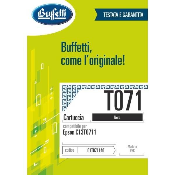 Epson Cartuccia inkjet - compatibile - T071 - nero