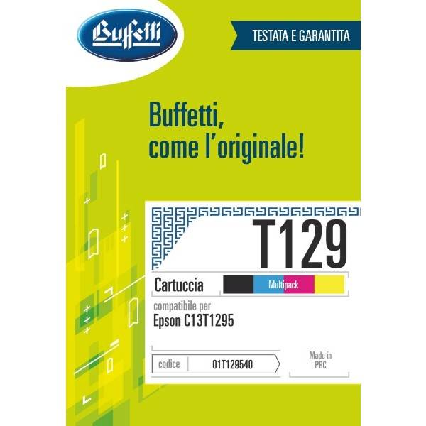 Epson Cartuccia inkjet - compatibile - T129 - 4 colori multipack