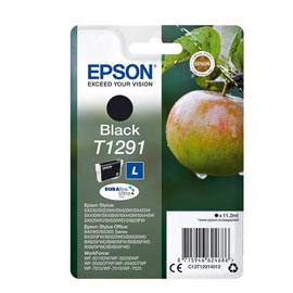 EPSON CARTUCCIA NERO MELA T1291