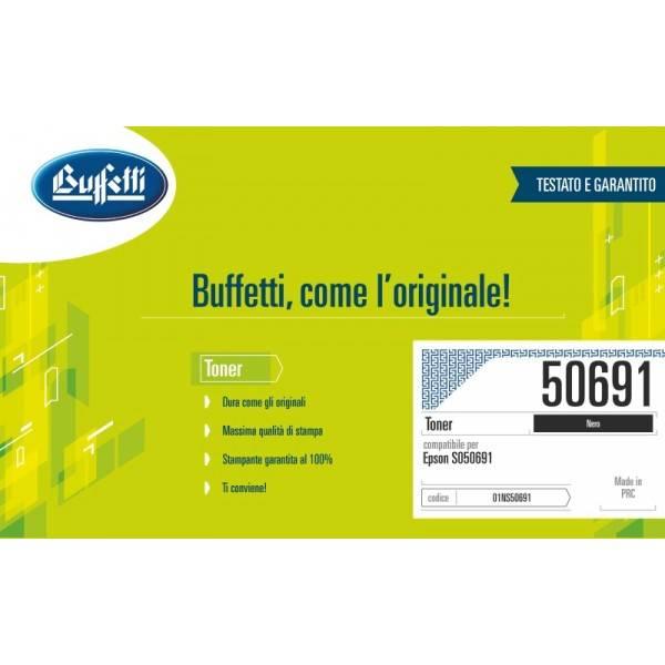 Epson cartuccia toner - compatibile - C13S050691 - nero