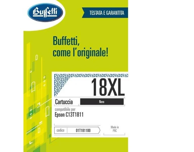 Epson inkjet - compatibile - 18XL - nero