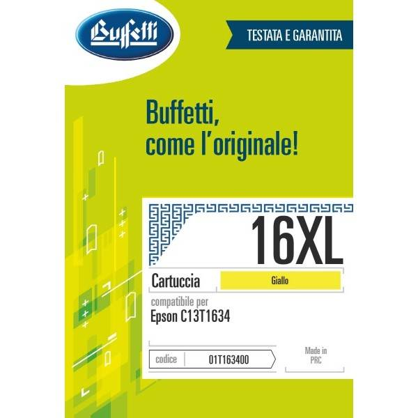 Epson inkjet - compatibile - 16XL - giallo
