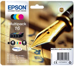 EPSON MULTIPACK 16 N.4 CARTUCCE
