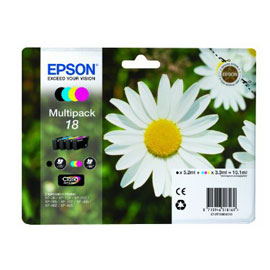 EPSON MULTIPACK 18 N.4 CARTUCCE MARGHERITA