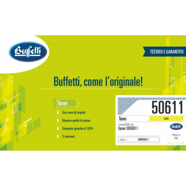 EPSON toner - compatibile - C13S050613 - giallo