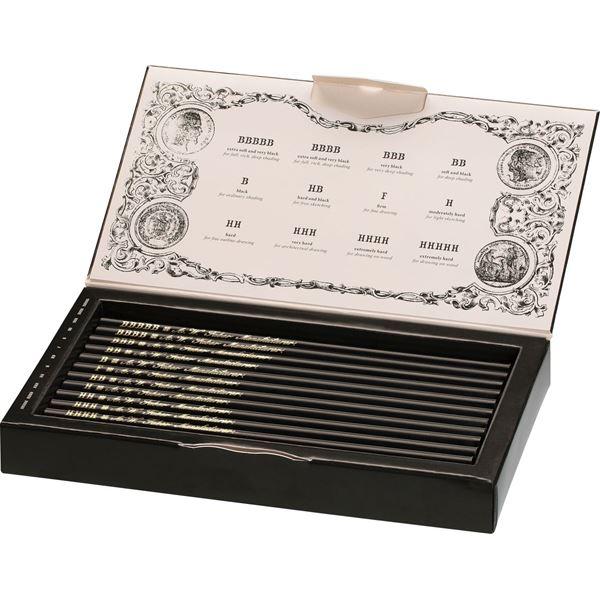 Faber Castell Set regalo matite di grafite Polygrades