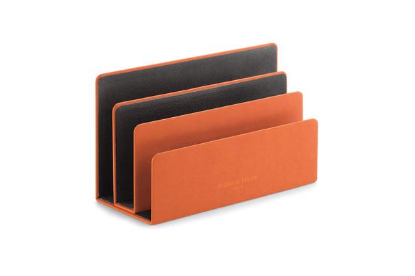 FEDON Portabuste 3 comparti Business Arancione