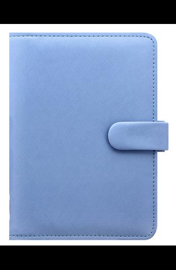Filofax Agenda Organizer Personal Saffiano Blu