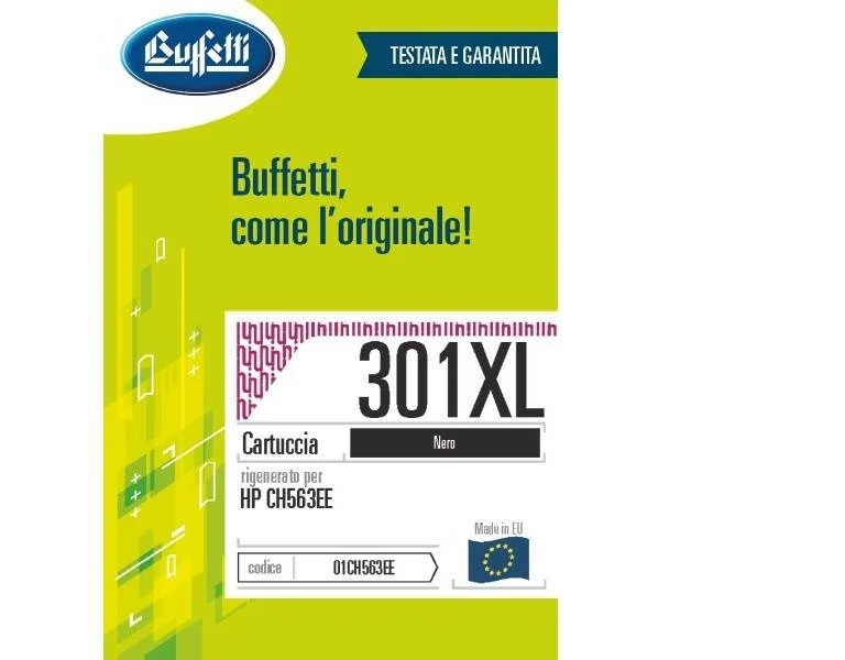 HP inkjet - compatibile - 301XL - nero