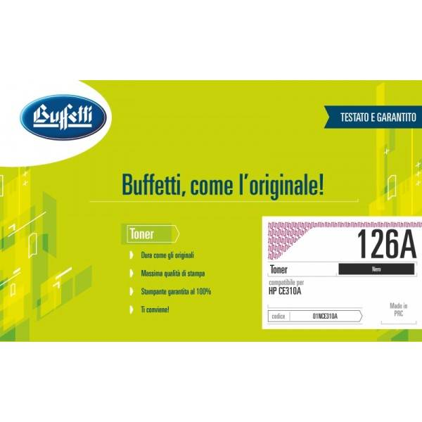 HP Toner - compatibile - 126A - nero
