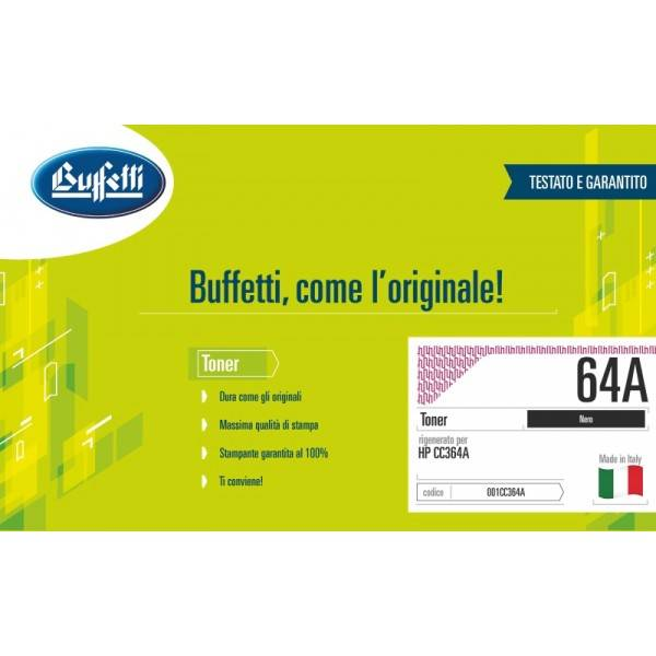 HP Toner - compatibile - 64A - nero