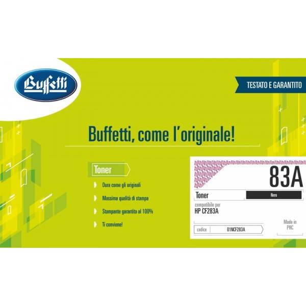 HP Toner - compatibile - 83A - nero