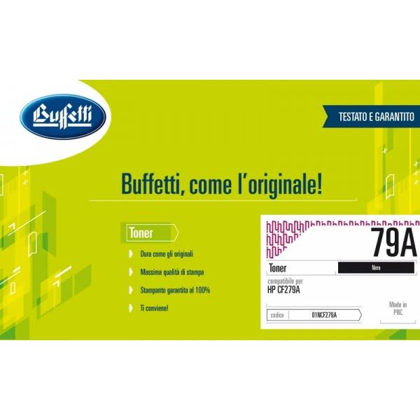 HP Toner - Compatibile - 79A - nero