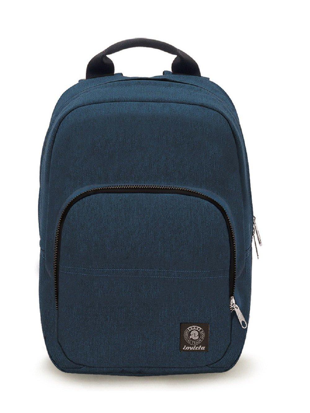 """Invicta Zaino Easy Medium porta Notebook da 15,6"""" Navy"""