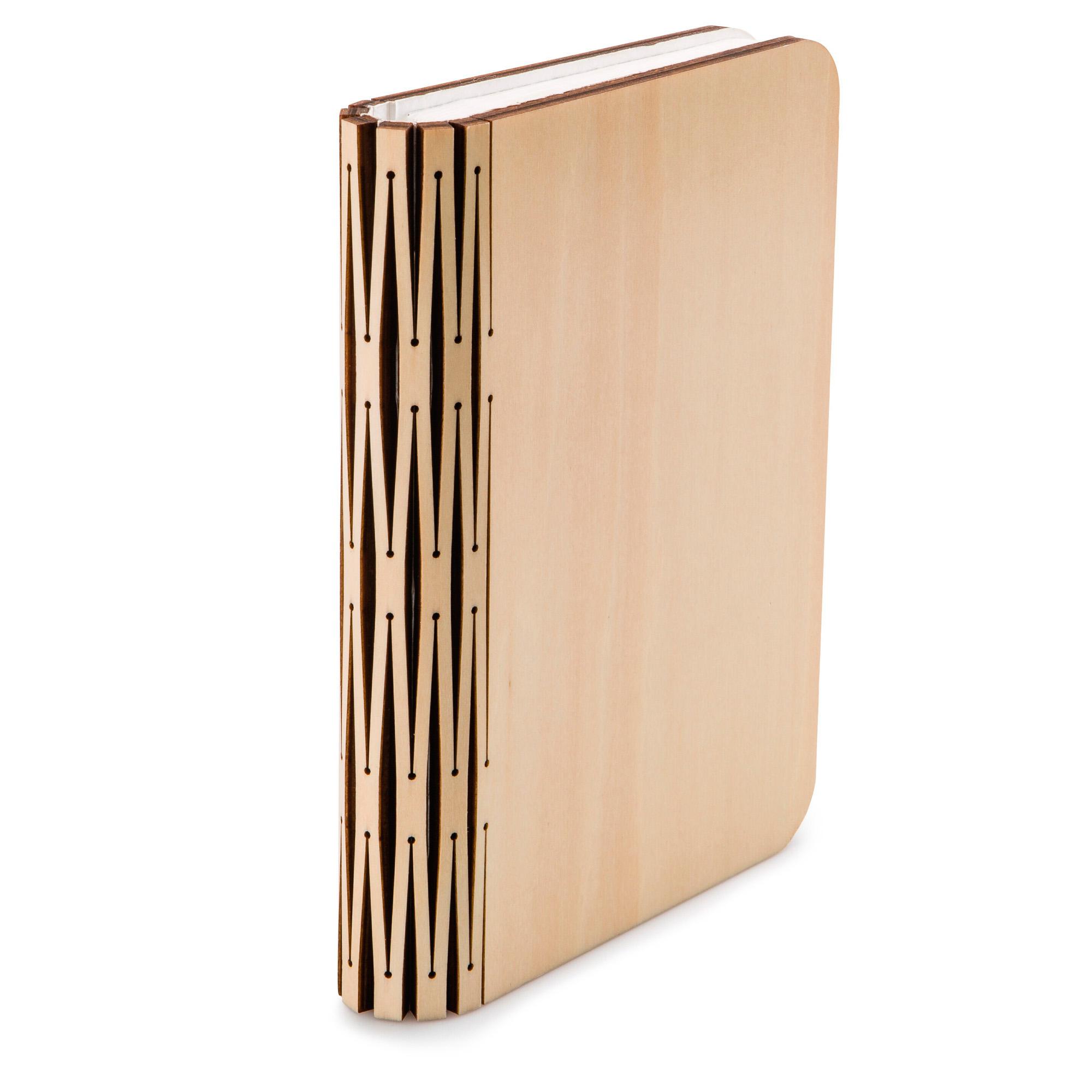 Lampada Libro USB Ricaricabile in legno 12X8