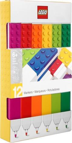 LEGO Pennarelli confezione 12 colori