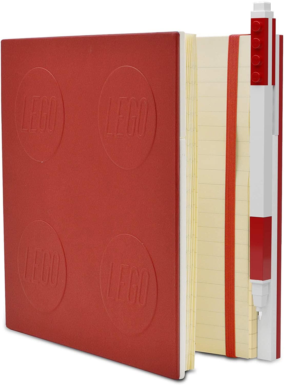 LEGO Taccuino Locking Notebook Rosso