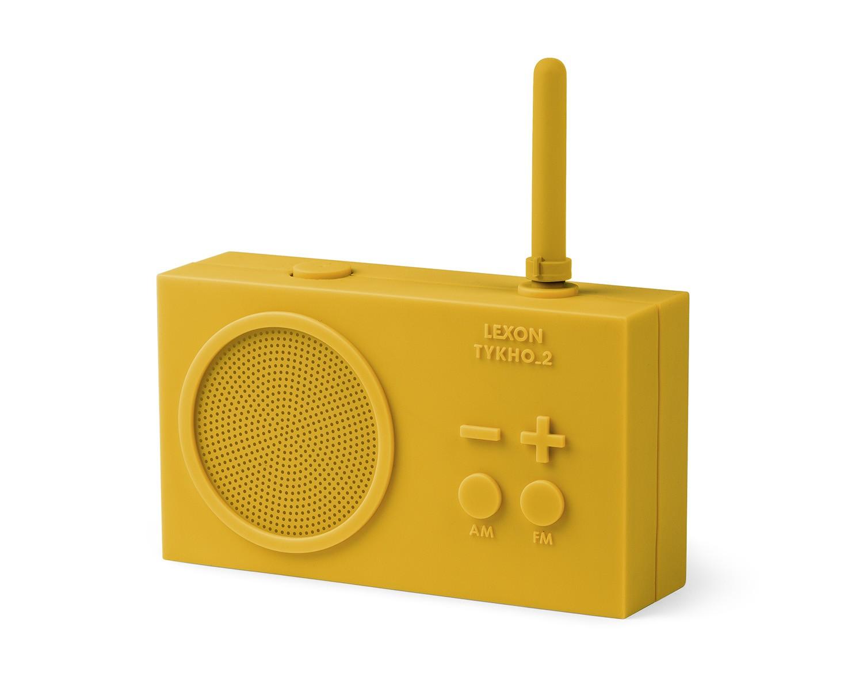 Lexon RADIO TYKHO 2 Giallo