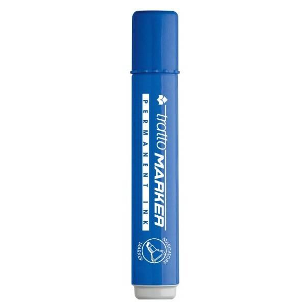 Marcatore permanente blu con punta a scalpello e tratto 1-5 mm Tratto Marker