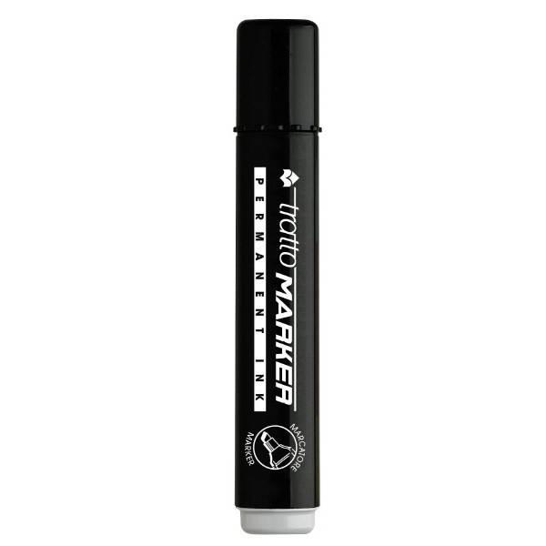 Marcatore permanente nero con punta tonda e tratto 1,4-2,8 mm Tratto Marker