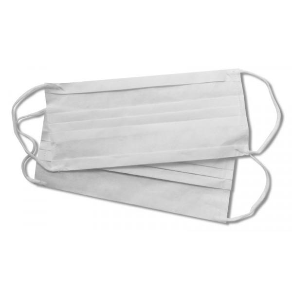 Mascherina filtrante in carta con fibra di cotone Bianche