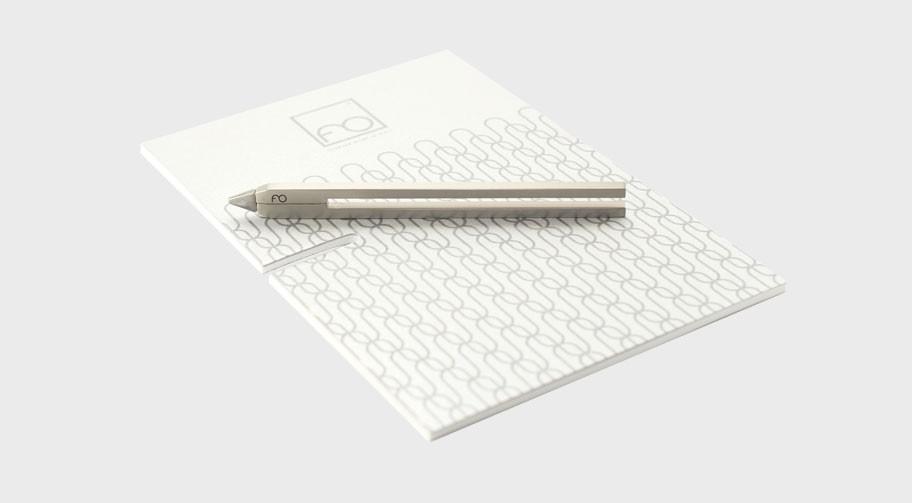 Napkin Matita Clip Alluminio Satinato