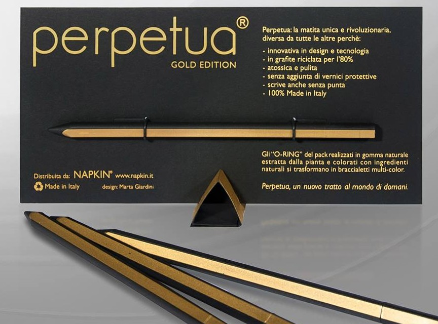 Napkin Perpetua Gold Edition