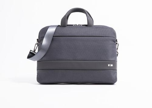 NAVA Easy Plus Briefcase Slim Grigio Scuro