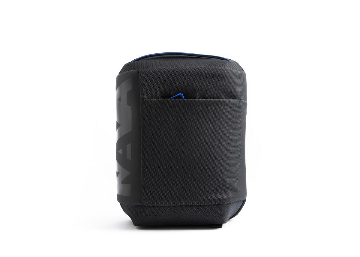 Nava Zaino Cross con 1 scomparto con porta PC e iPad Nero - Blu