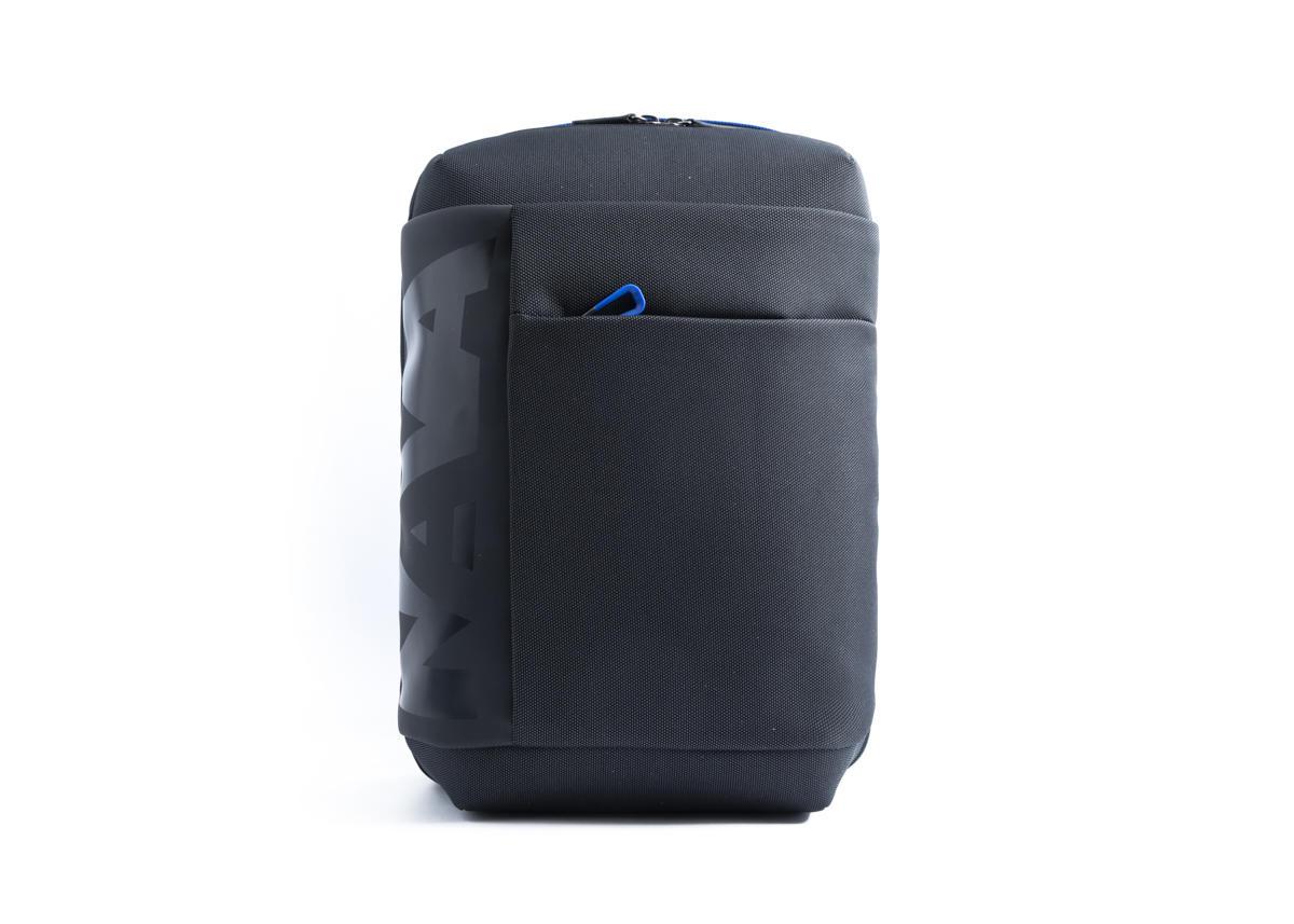 Nava Zaino Cross con 2 scomparti e porta PC e iPad Nero - Blu