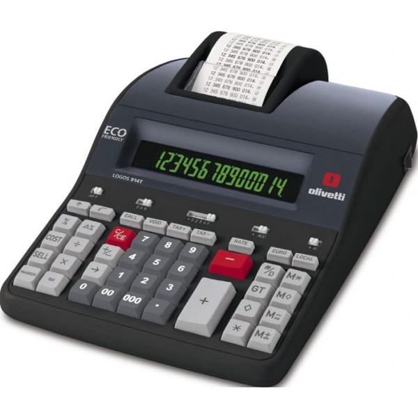 Olivetti Calcolatrice scrivente Logos 914T