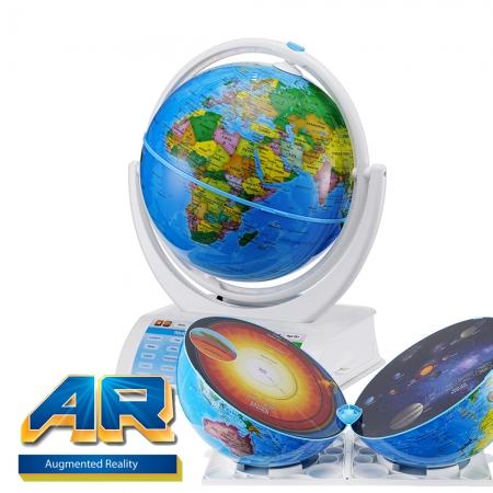 Oregon Scientific Smart Globe Explorer AR con Sistema solare e Realtà aumentata