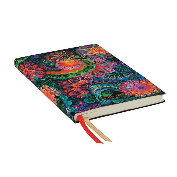 Paperblanks Agenda Flexi Maxi 2019-2020 Chiaro di Luna 18 mesi interno Verticale Multicolore