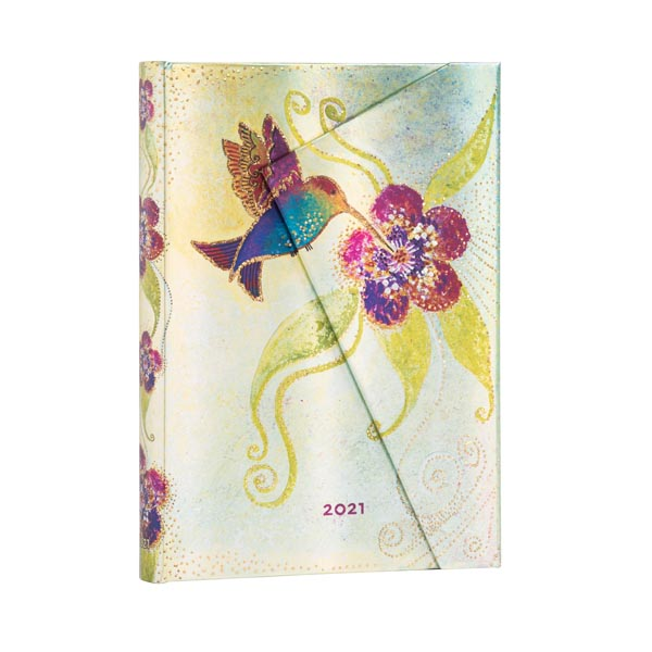 Paperblanks Agenda MIDI 12 mesi giornaliera 2021 Colibri
