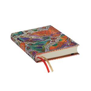 Paperblanks Agenda Midi Giornaliera 2019-2020 Farfalle 18 mesi Multicolore