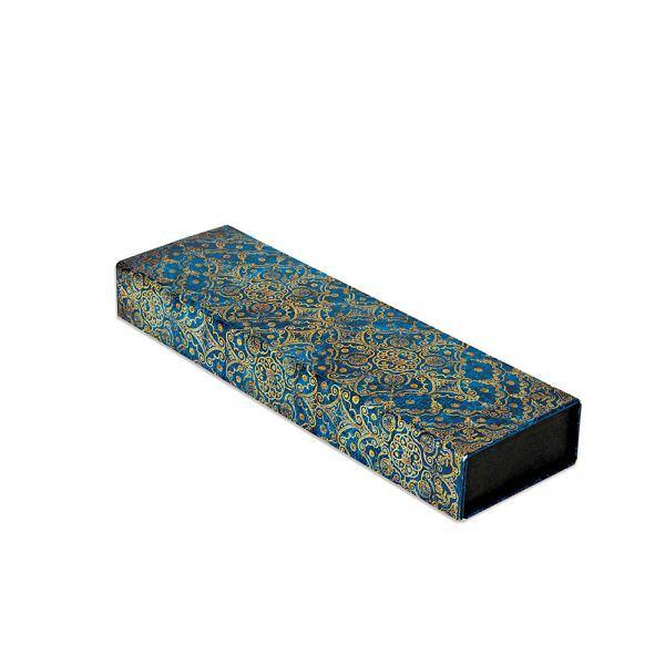 Paperblanks Astuccio Rigido Azzurro con chiusura magnetica Blu