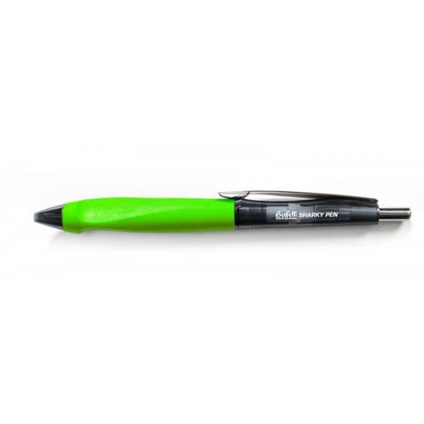 Penna a sfera a scatto Sharky nero tratto 0.7 mm Buffetti