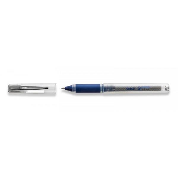 Penna Roller superfluid blu con cappuccio punta fine 0.7 mm Buffetti