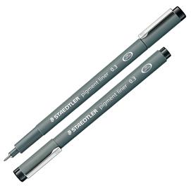 Pennarello Pigment Liner 308 nero 0,3mm Staedtler
