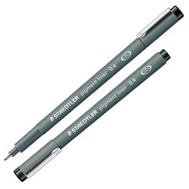 Pennarello Pigment Liner 308 nero 0,4mm Staedtler