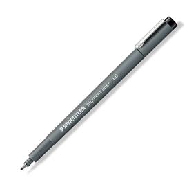 Pennarello Pigment Liner 308 nero 1,0mm Staedtler
