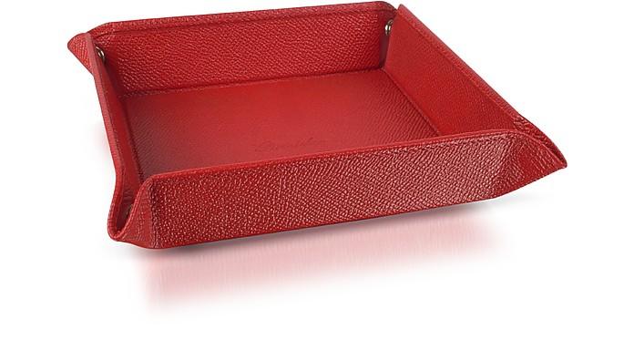 Pineider  Vuotatasche Quadrato Medio rosso