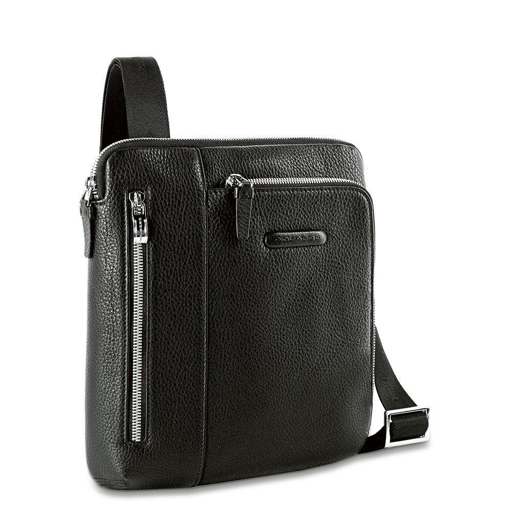 Piquadro Borsello Black Square porta iPad® Nero