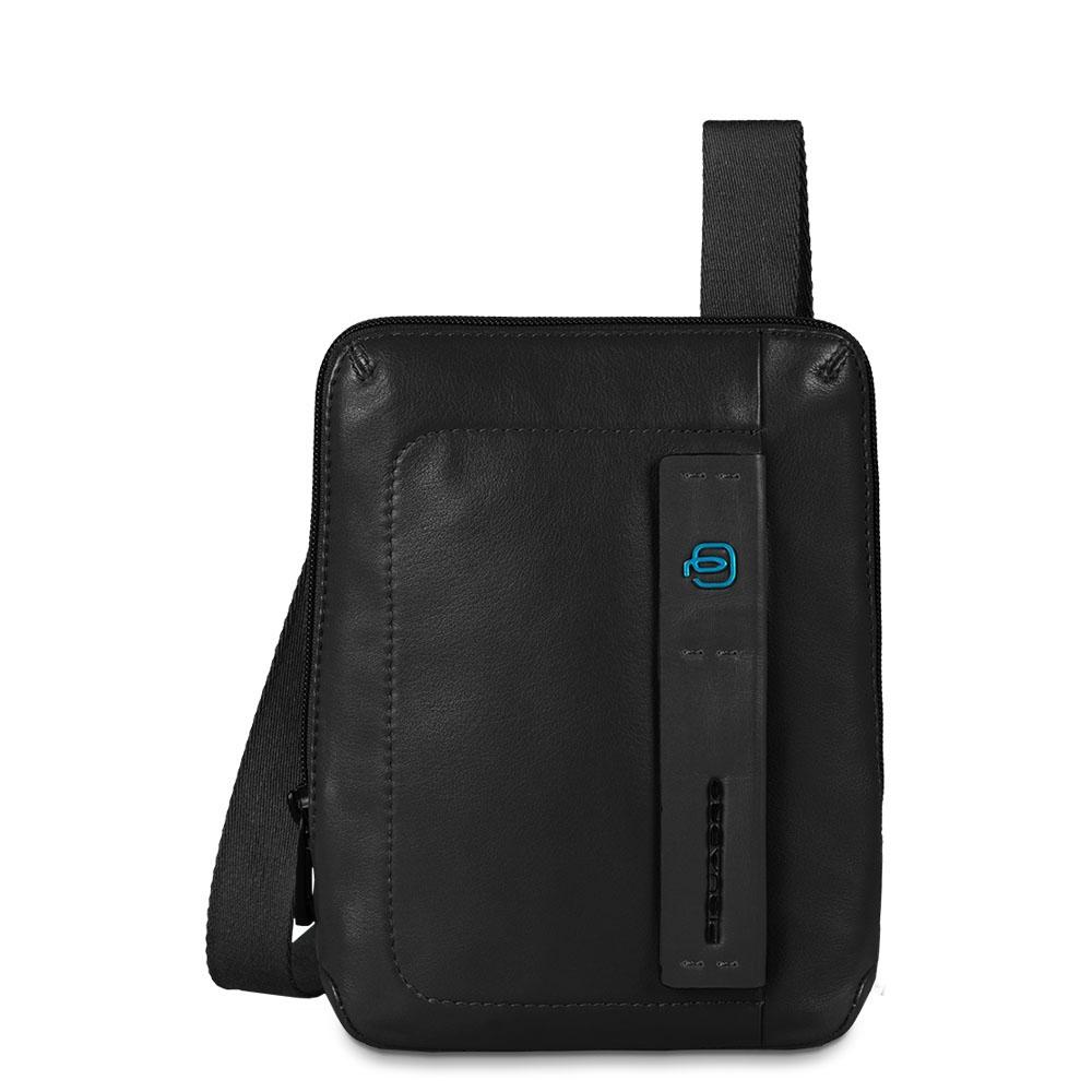 Piquadro Borsello Pulse organizzato con scomparto porta iPad®mini Nero