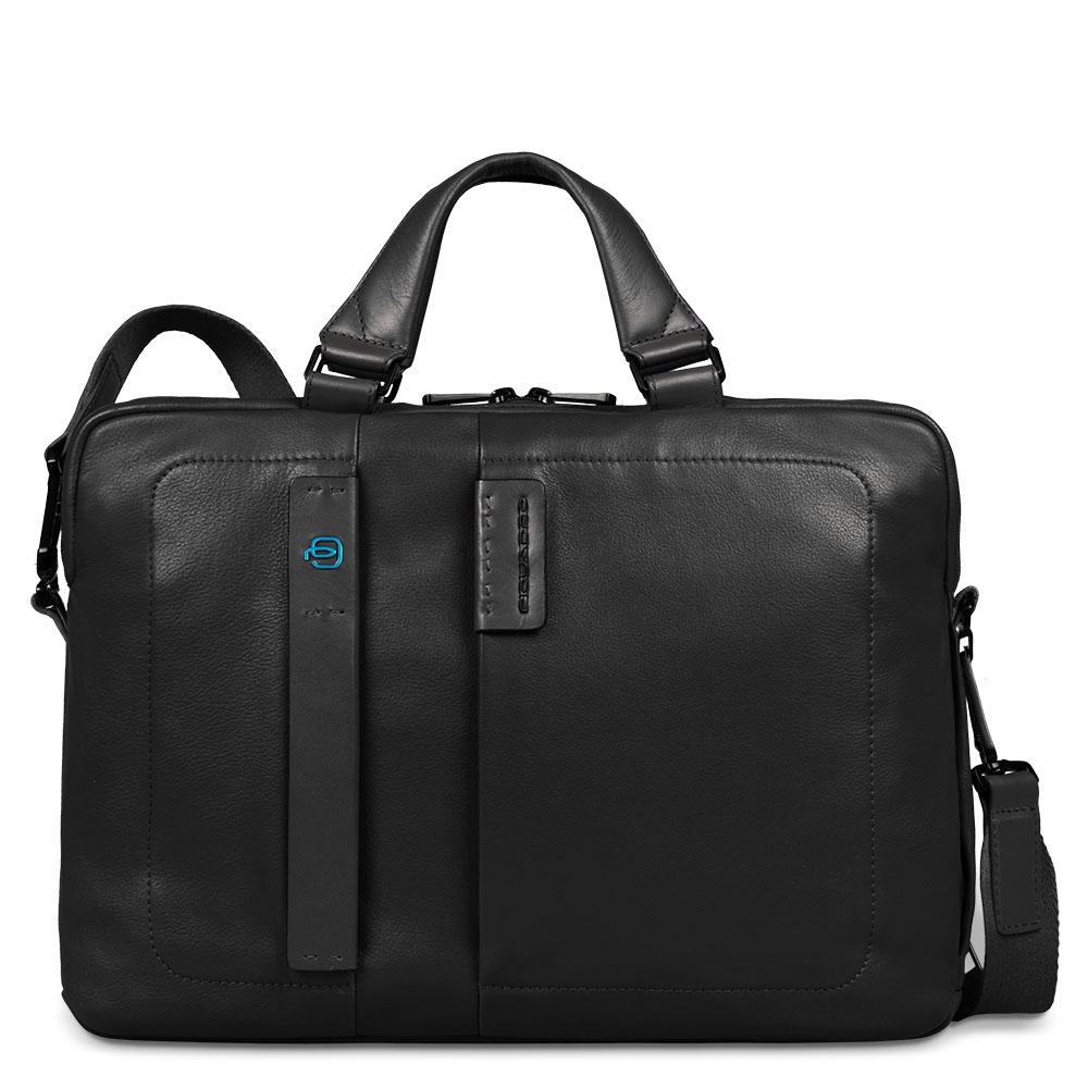 Piquadro Cartella Pulse porta computer con tasca porta iPad® Nero