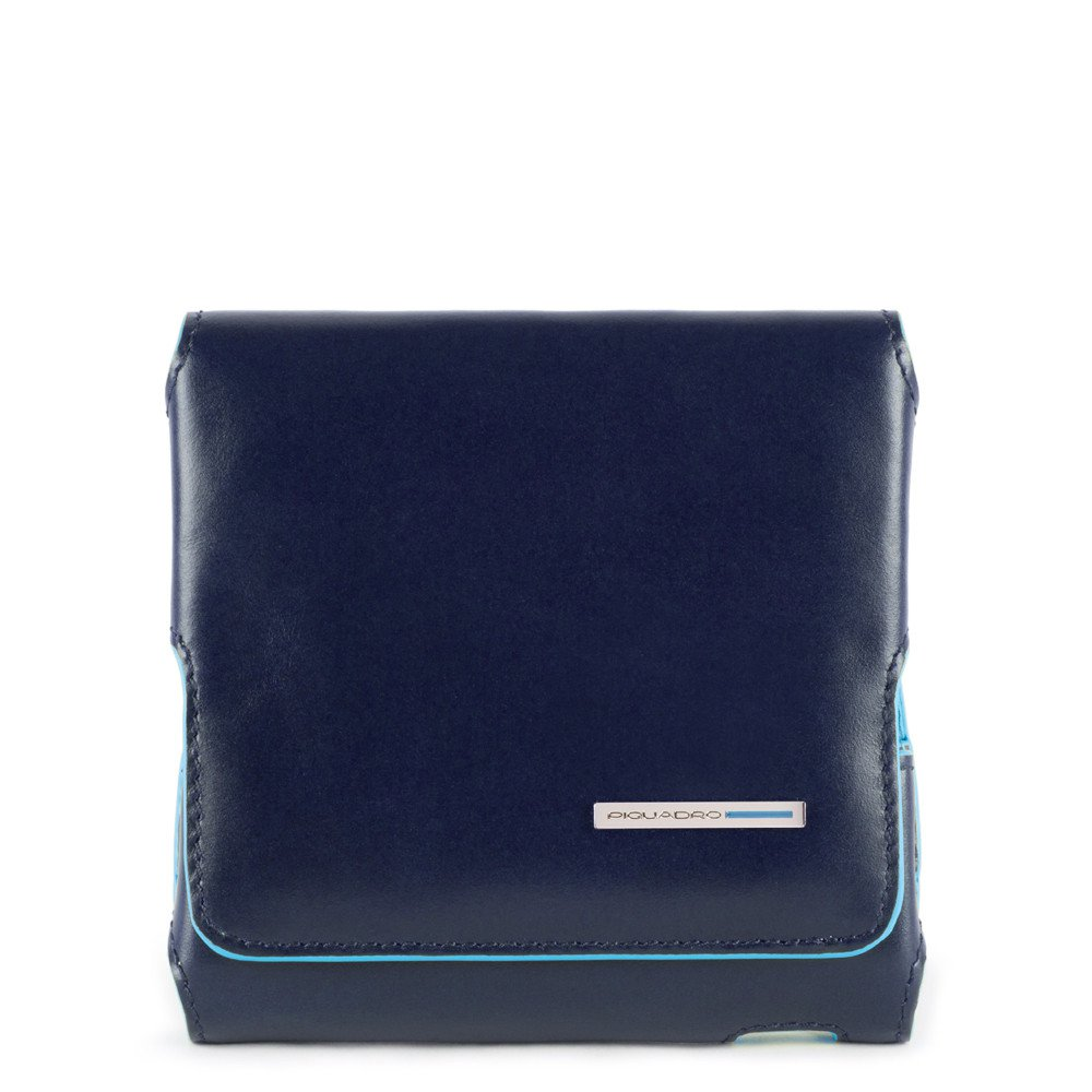 Piquadro Custodia per porta sigaretta elettronica iQOs Blue Square Blu