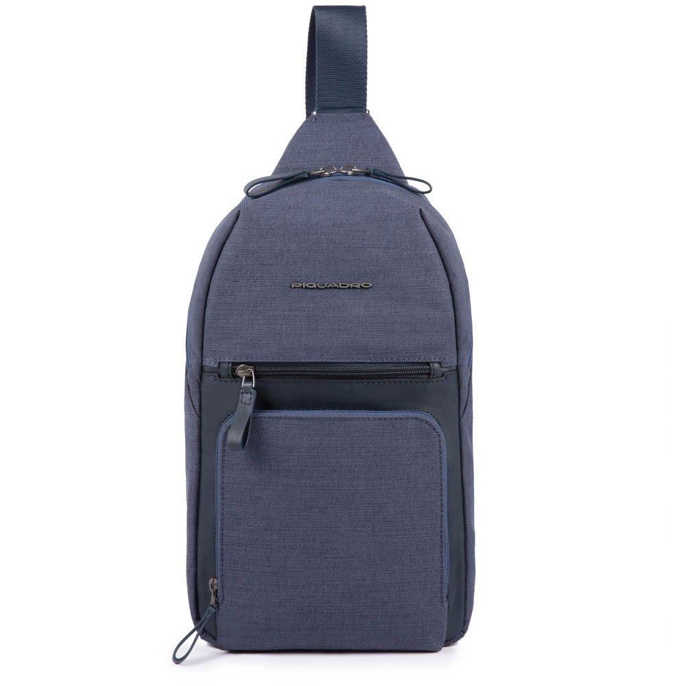 Piquadro Monospalla porta iPad® Tiros Blu