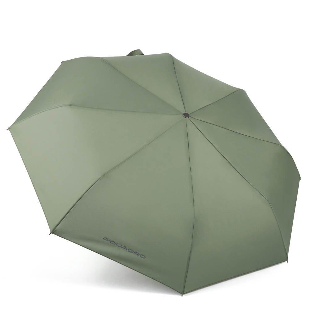 Piquadro Ombrello mini automatico open-close antivento Stationery Verde