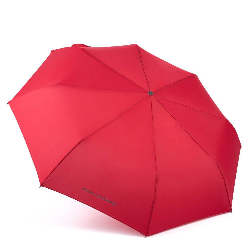 Piquadro Ombrello mini automatico open-close antivento Stationery Rosso